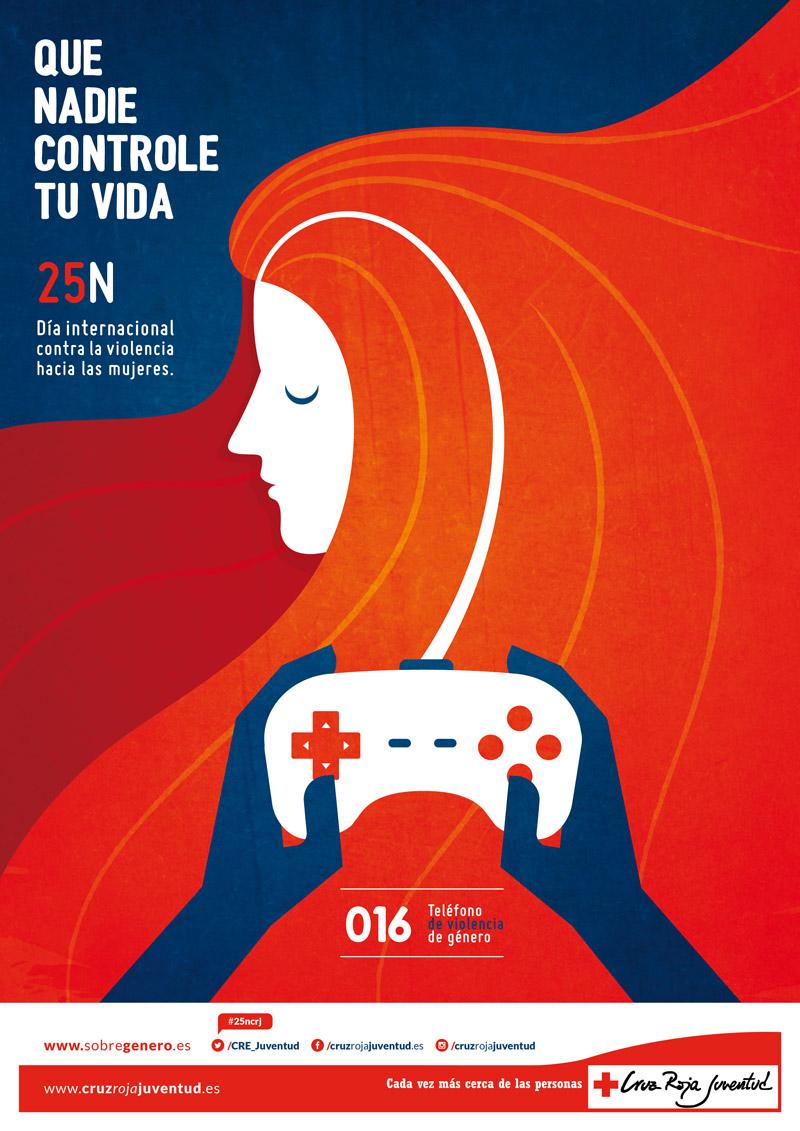 CRUZ ROJA JUVENTUD | Campaña violencia de género