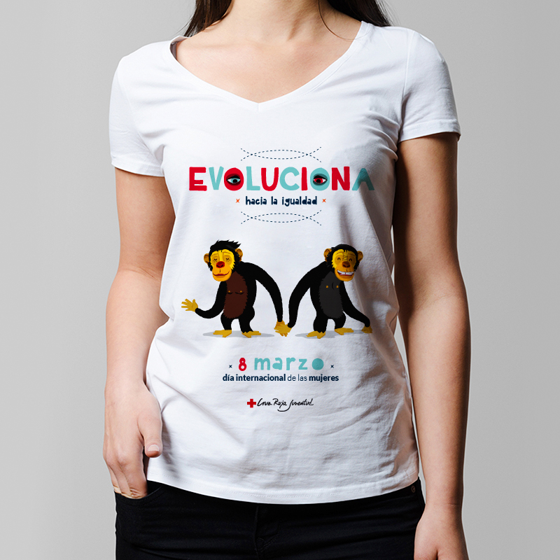 Cruz Roja Juventud | 8 marzo Lucha igualdad de género