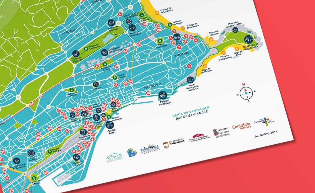 Guía alojamientos Turismo de Santander, Cantabria