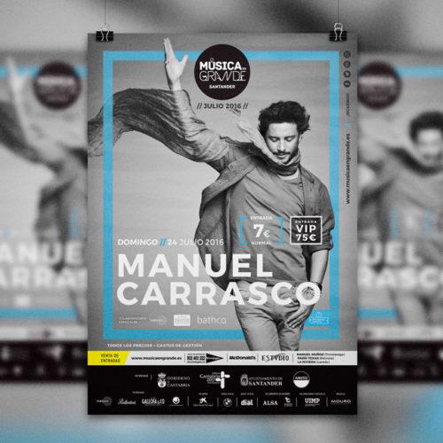 Festival Música en Grande 2016 | Manuel Carrasco