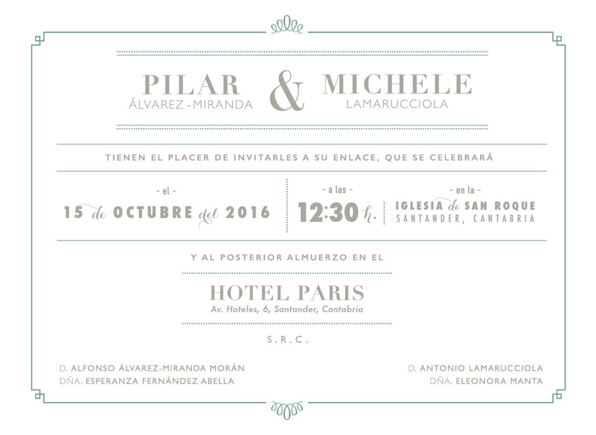 Diseño e impresión | bodas y eventos